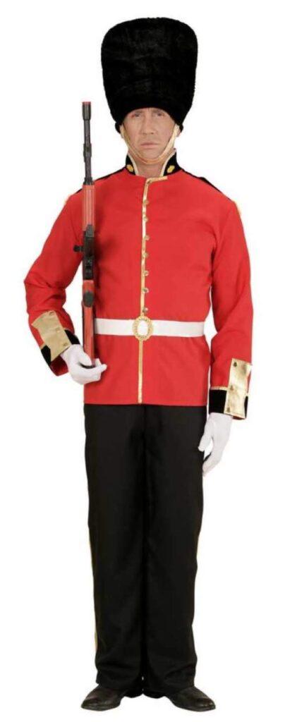 garder kostume til mænd uniform bjørneskindshue voksne gardekostume