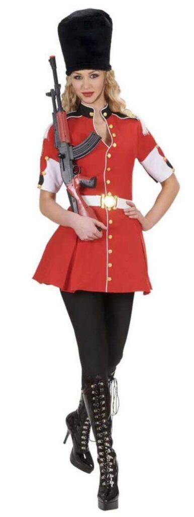 livgarde pige livegarde tampomajor kostume fætter br kostume til kvinder