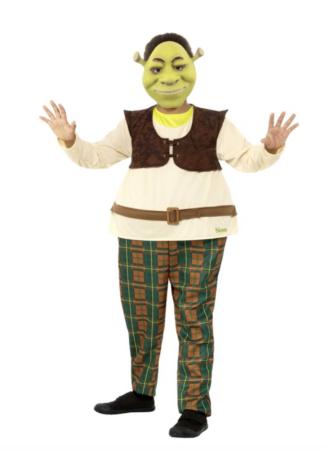 Shrek kostume til børn 326x450 - Shrek kostume til børn