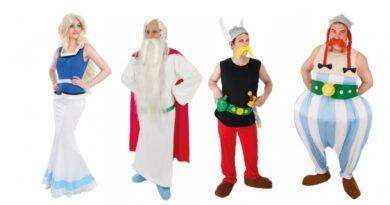 asterix og obelix kostume til voksne 390x205 - Obelix og Asterix kostume til voksne