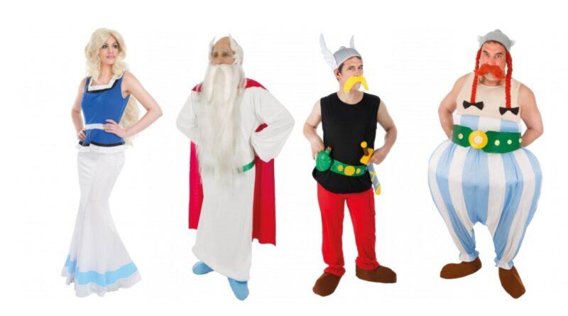 asterix og obelix kostume til voksne 800x445 - Obelix og Asterix kostume til voksne
