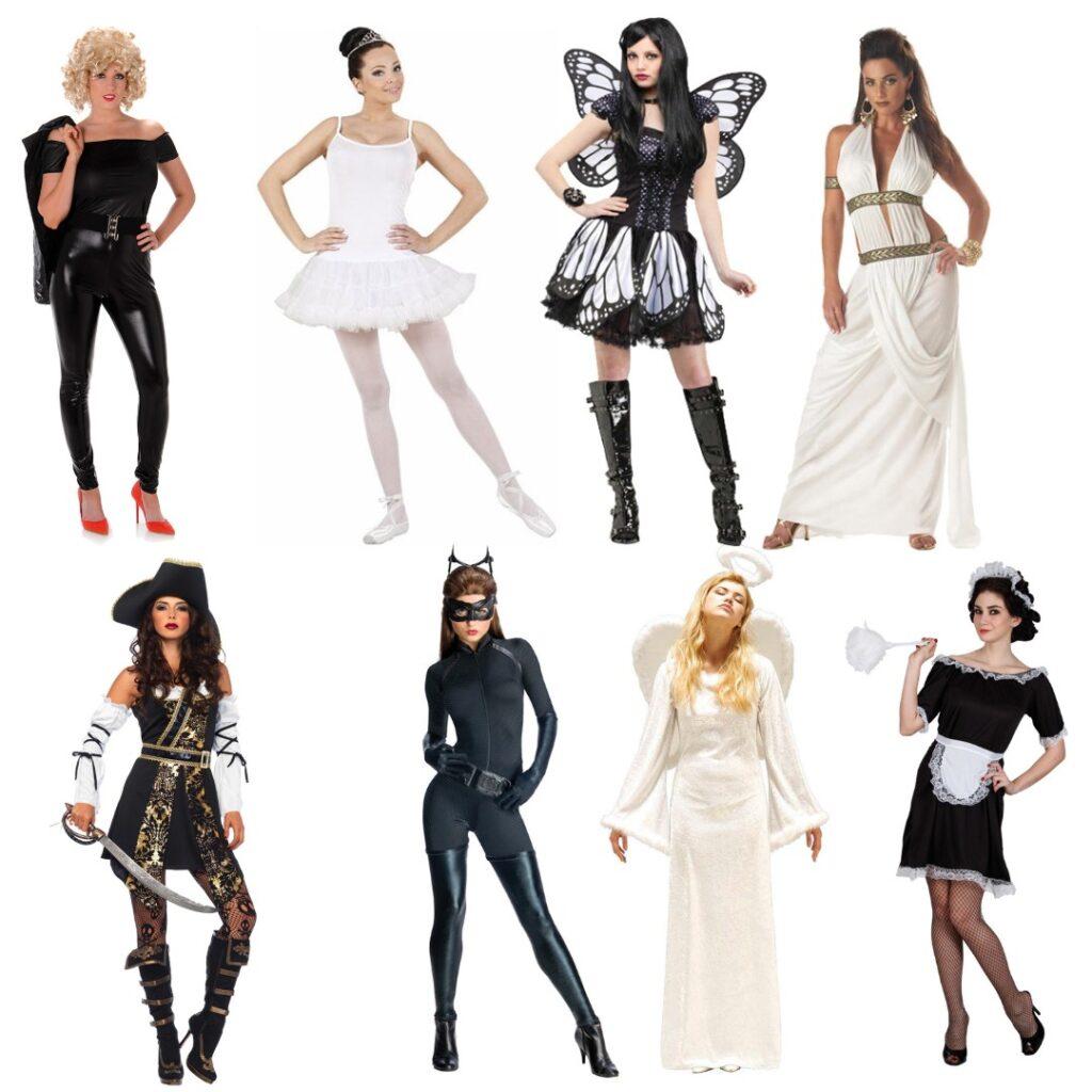 black white kostume til kvinder sort kostume til kvinder hvidt kostume til kvinder 1024x1024 - Black & White temafest