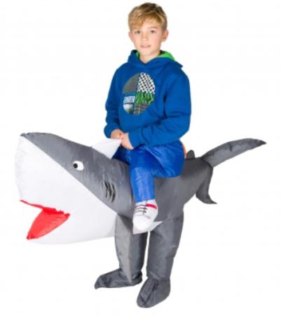 haj børnekostume haj ride on haj kostume carry me haj børnekostume
