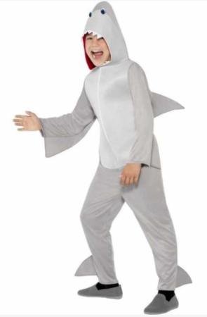 haj kostume til børn haj børnekostume