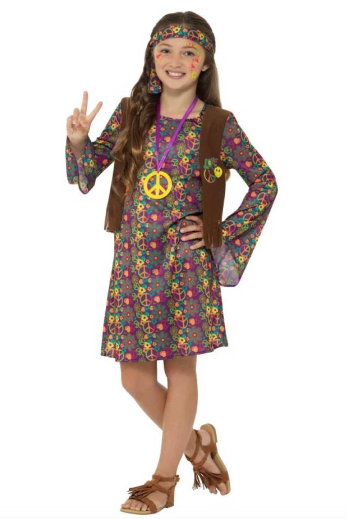 hippie kostume til børn 685x1024 - Hippie kostume til børn