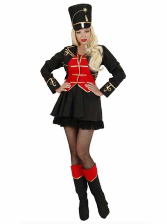 løvetæmmer kostume til kvinder cirkus kostume til kvinder cirkus udklædning sort hat