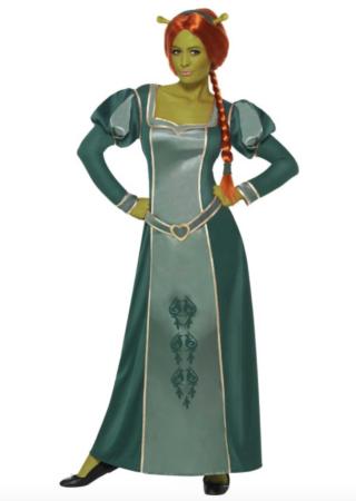 prinsesse fiona kostume til voksne 320x450 - Shrek kostume til voksne