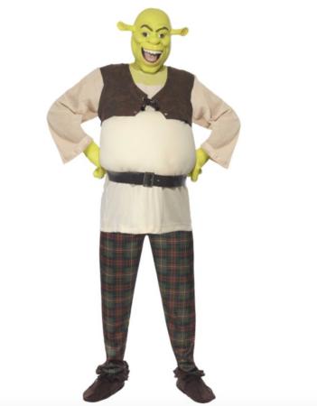 shrek kostume til voksne 351x450 - Shrek kostume til voksne