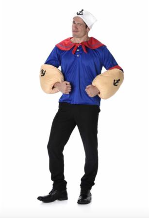 skipper skræk voksenkostume 307x450 - Skipper Skræk kostume til voksne