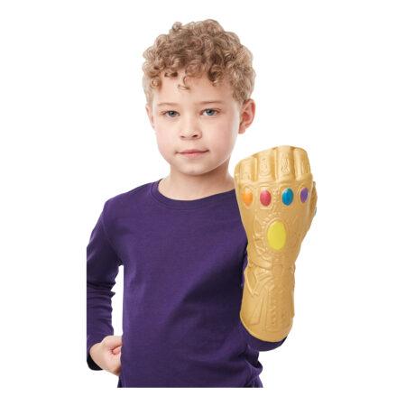 thanos kostume til børn thanos endgame handske til børn børnekostume skurk kostume avengers endgame handske marvel avengers skurk
