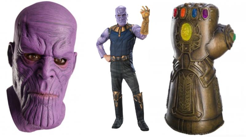 thanos skurk kostume til voksne avengers endgame kostume 800x445 - Thanos kostume til voksne