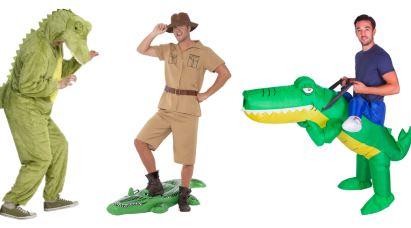 krokodillejæger safari kostume jæger kostume
