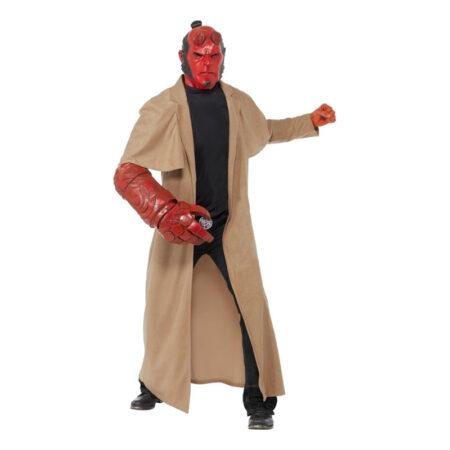 hellboy kostume til voksne hellboy udklædning halloween superskurke kostume antihelt kostume