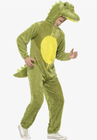 alligator kostume til voksne safari kostume farlige dyr kostume til voksne