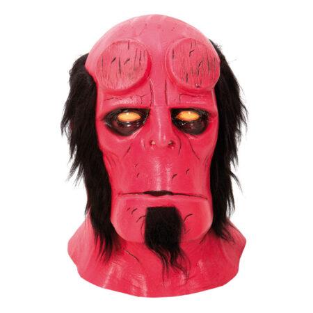 hellboy maske halloween maske til voksne rød maske farlig halloween maske