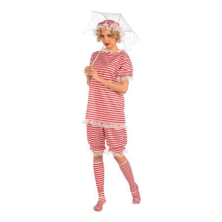 badetøj kostume 1920er kostume badehotellet kostume til voksne retro badetøj kostume til kvinder