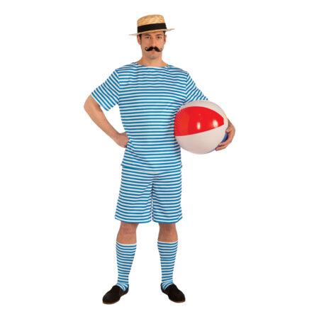 badetøj kostume 1920er kostume badehotellet kostume til voksne retro badetøj kostume til mænd