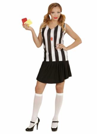 fodbold dommer udklædning til kvinder sportskostume til kvinder fodboldkostume
