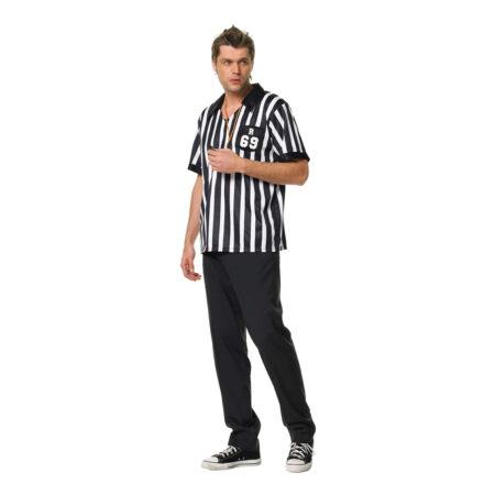 fodbolddommer kostume til mænd sort hvid kostume til voksne dommer kostume til voksne