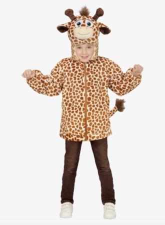giraf hættetrøje 330x450 - Giraf kostume til børn