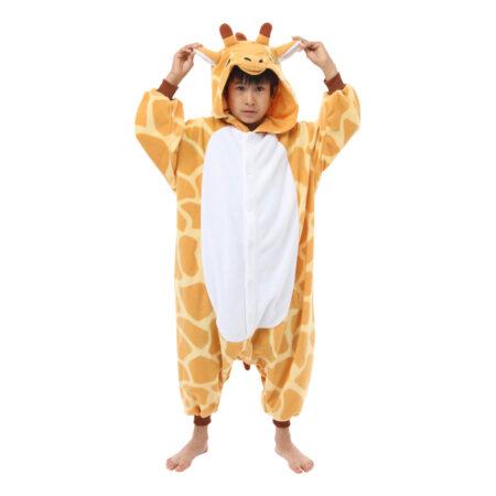 giraf kigurumi til børn 450x450 - Giraf kostume til børn