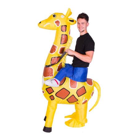 oppusteligt giraf kostume til voksne 450x450 - Giraf kostume til voksne