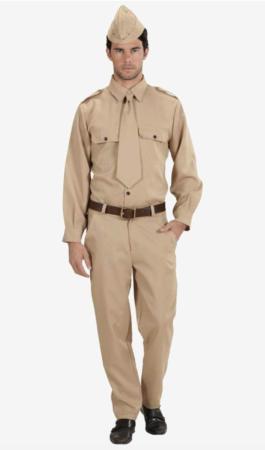 2. verdenskrig soldat kostume 265x450 - Soldat kostume til voksne