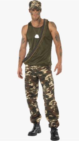 Skærmbillede 2019 07 06 kl. 12.10.00 253x450 - Soldat kostume til voksne