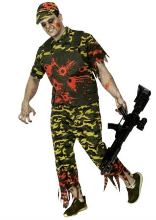halloween soldat kostume  318x450 - Soldat kostume til voksne