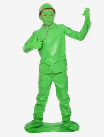 legetøjs soldat kostume 341x450 - Soldat kostume til børn