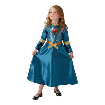 merida kjole til børn merida børnekostume modig brave kjole til piger blå kjole til piger