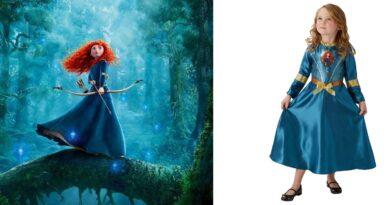 merida modig kostume til børn 390x205 - Modig kostume til piger
