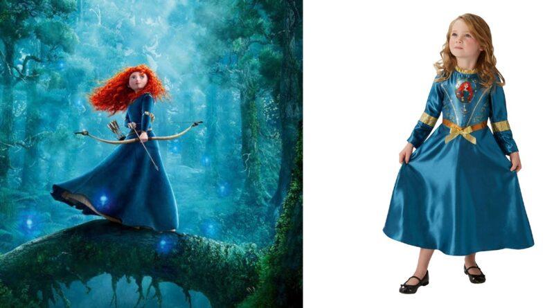 merida modig kostume til børn 800x445 - Modig kostume til piger