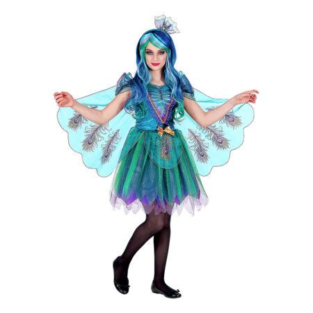påfugl kostume til børn påfugl børnekostume fastelavnskostume til piger