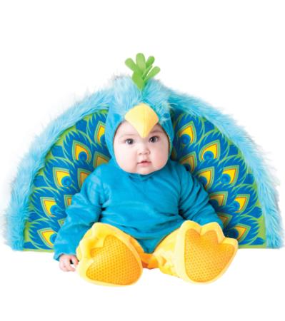 påfugl kostume til baby baby karnevalskostume