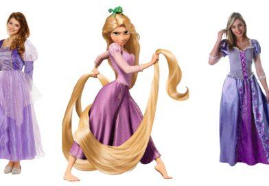 rapunzel kostume til voksne, rapunzel udklædning til voksne, rapunzel voksenkostume, prinsesse kostume til voksne, disney kostumer til voksne
