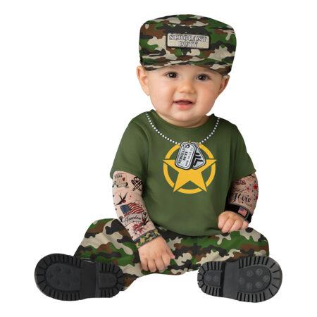 soldat babykostume 450x450 - Soldat kostume til børn
