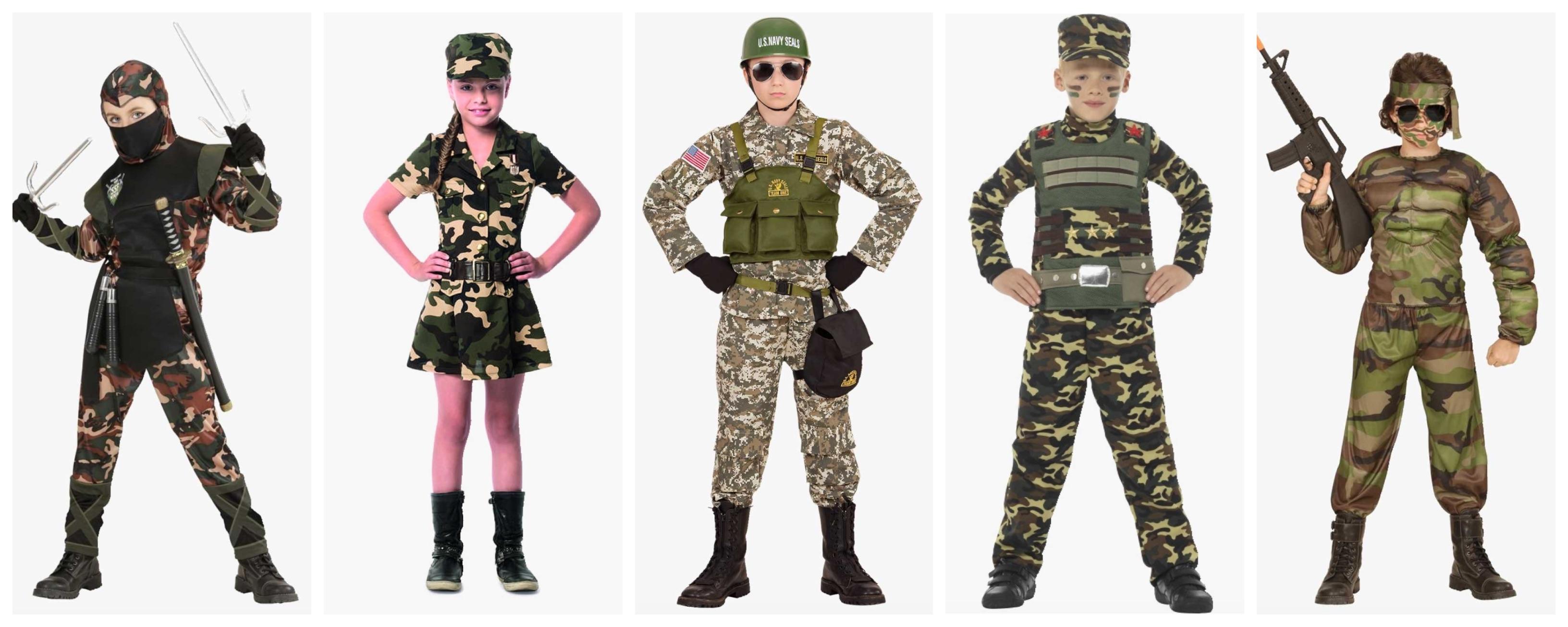 soldat kostume til børn 1 - Soldat kostume til børn