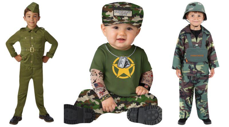 soldat kostume til børn, soldat udklædning til børn, soldat børnekostume, soldat babykostume, soldat kostume til baby, militær kostume til børn, militær kostume til drenge, militær kostume til piger, militær kostume til baby, soldat fastelavnskostume til piger, soldat fastelavnskostume til drenge, militær børnekostume