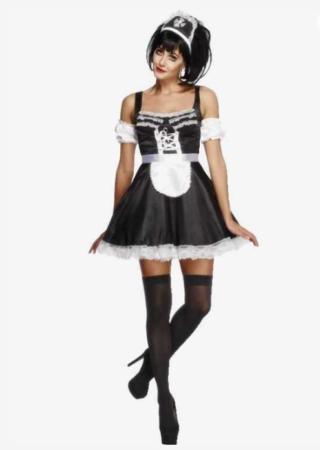 stuepige kostume til kvinder stuepige udklædning