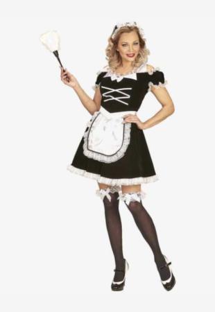 stuepige kostume til kvinder stuepige udklædning fransk