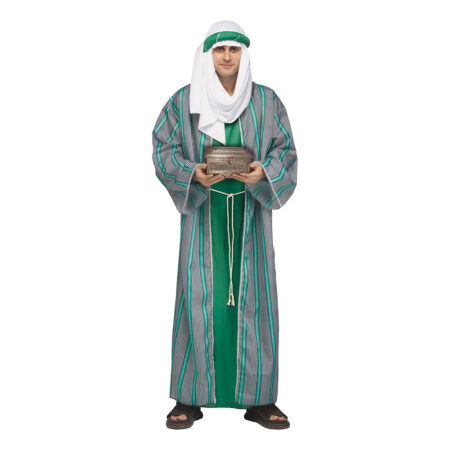 grønt de vise mænd kostume til voksne