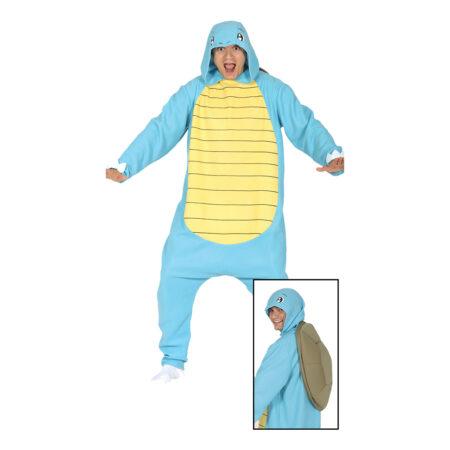 Blå skildpadde kostume 450x450 - Skildpadde kostume til voksne