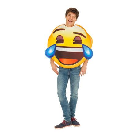 emoji kostume grine emoji glad smiley kostume til voksne