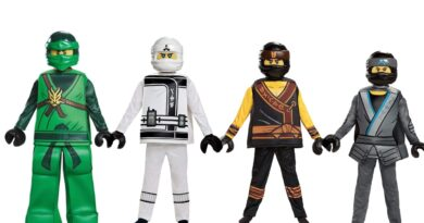 Lego ninjago børnekostume lego ninjago fastelavn kostume 390x205 - Lego Ninjago kostume til børn