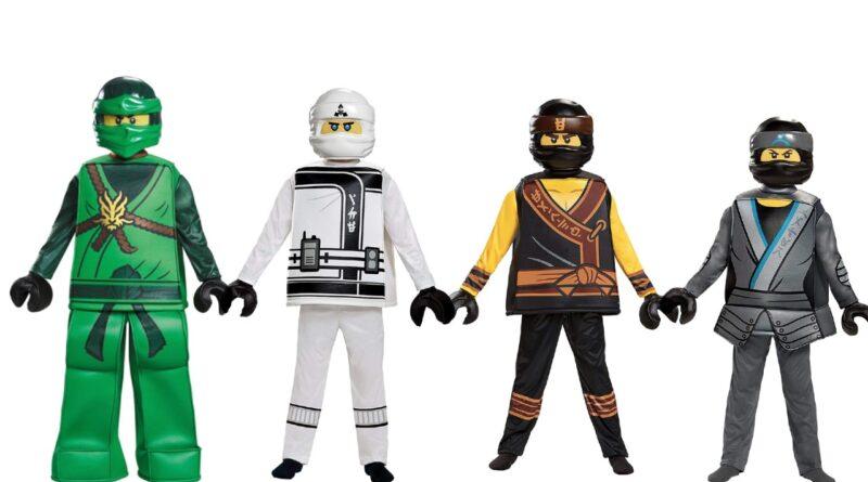 Lego ninjago børnekostume lego ninjago fastelavn kostume 800x445 - Lego Ninjago kostume til børn