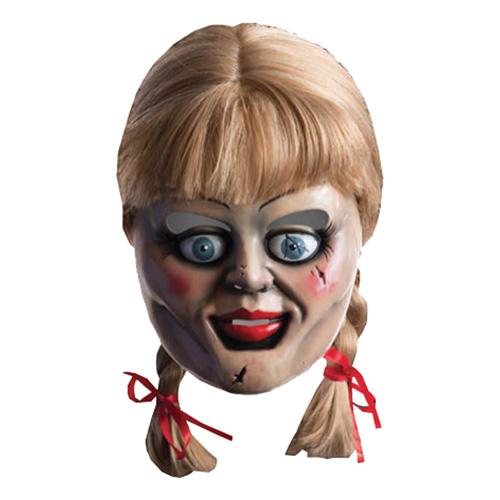 annabelle paryk og maske - Annabelle kostume til voksne