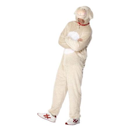 får kostume til voksne krybbespil for voksne lambi voksenkostume