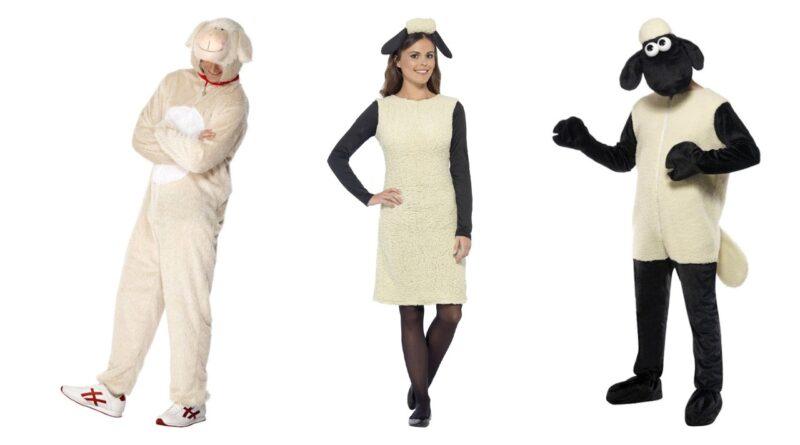 frode får kostume krybbespil kostume til voksne 800x445 - Får kostume til voksne