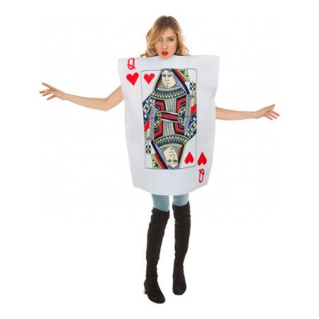 hjerter dame kostume til voksne 450x450 - Kortspil kostume til voksne